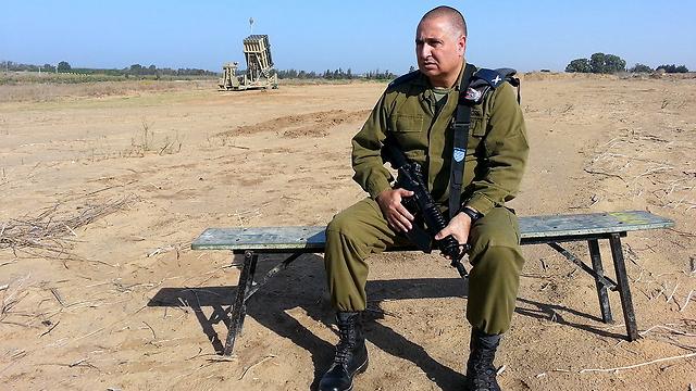 """יעניק צל""""ש? תא""""ל שחר שוחט, מפקד מערך ההגנה האווירית (צילום: רועי עידן) (צילום: רועי עידן)"""