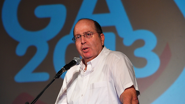 Moshe Ya'alon (Archive photo: Ariel Hermony, Defense Minister)