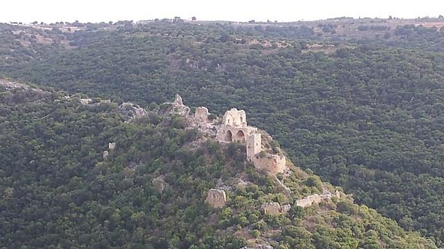 הסמל של הגליל המערבי. מבצר המונפורט (צילום: זיו ריינשטיין) (צילום: זיו ריינשטיין)