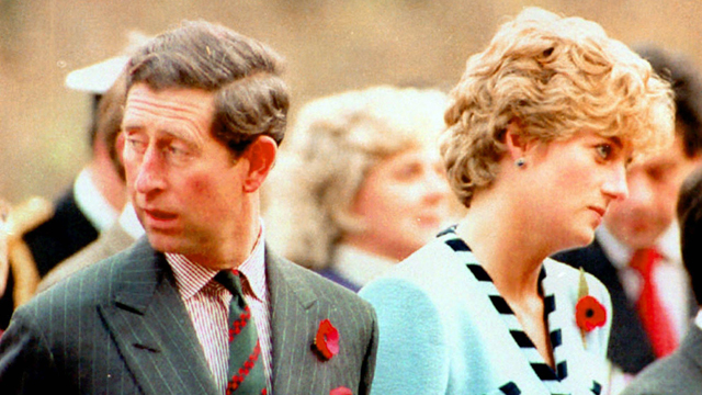 הנסיכה דיאנה והנסיך צ'רלס בדרום קוריאה בדצמבר 1992 (צילום: AP)