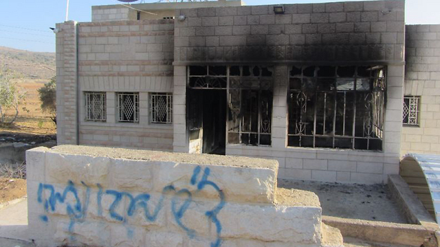 Damage caused to property (Photo: Iyad Hadad, B'Tselem)