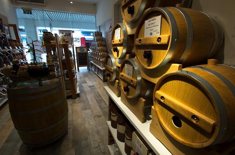 זו החנות בתל אביב. פום פאס (צילום: ירון ברנר)