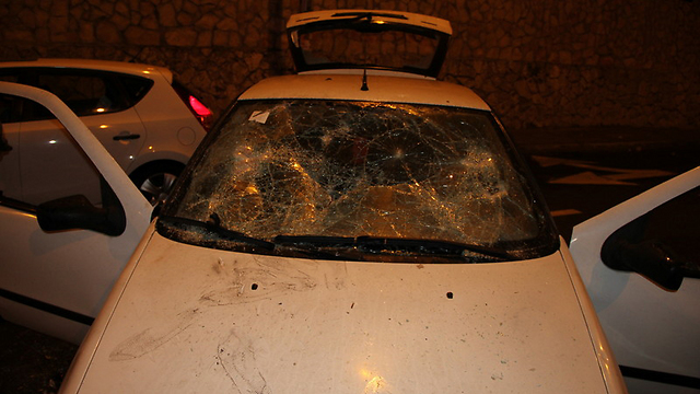 Man's car (Photo: Kikar HaShabbat)