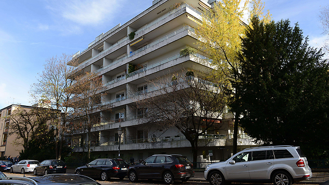 Munich apartment where art trove was discovered (AFP)