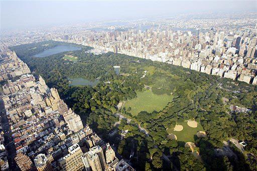הריאה הירוקה של ניו יורק. סנטרל פארק (צילום: איי פי)
