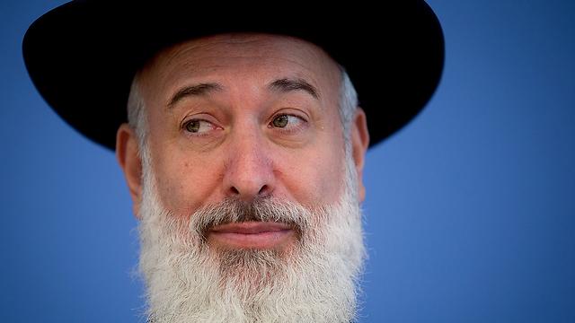 Rabbi Yona Metzger (Photo: AFP)