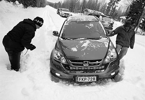 לא סתם רכב שטח - רכב קרח (ושלג) (צילום: יאיר שטיינמץ) (צילום: יאיר שטיינמץ)