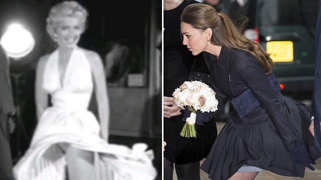 קייט באה לקרן צדקה, מרילין צילמה סצנה בסרט (צילום: גטי אימג'בנק) (צילום: גטי אימג'בנק)