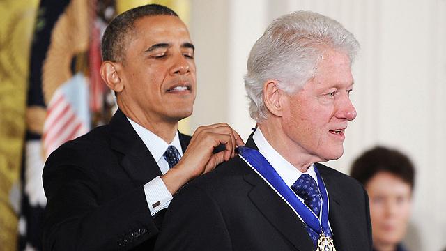 מקבל את מדליית החירות מאובמה (צילום: MCT) (צילום: MCT)