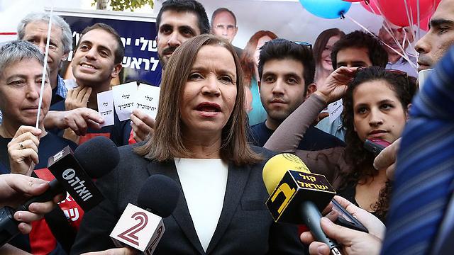 Shelly Yachimovich loses party chairmanship (Photo: Ofer Amram)