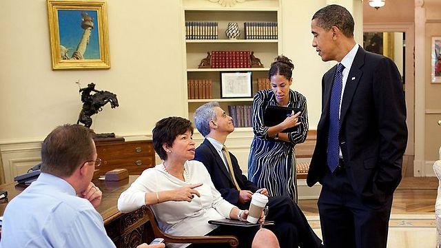 לצד רם עמנואל. יחסים מתוחים בין שני היועצים הבכירים של אובמה (צילום: הבית הלבן) (צילום: הבית הלבן)