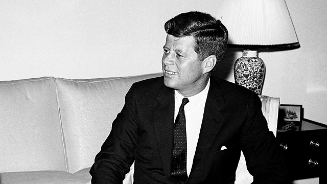 US President John F. Kennedy in 1961 (Photo: AP)