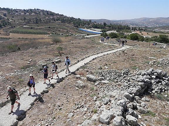 המשכן שכן כאן במשך 369 שנים. שילה הקדומה (צילום: זיו ריינשטיין)