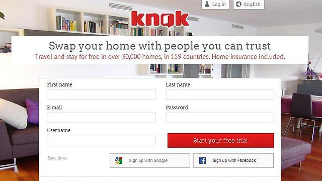 במחיר כלול ביטוח על הדירה. אתר Knok (צילום: מתוך אתר האינטרנט) (צילום: מתוך אתר האינטרנט)