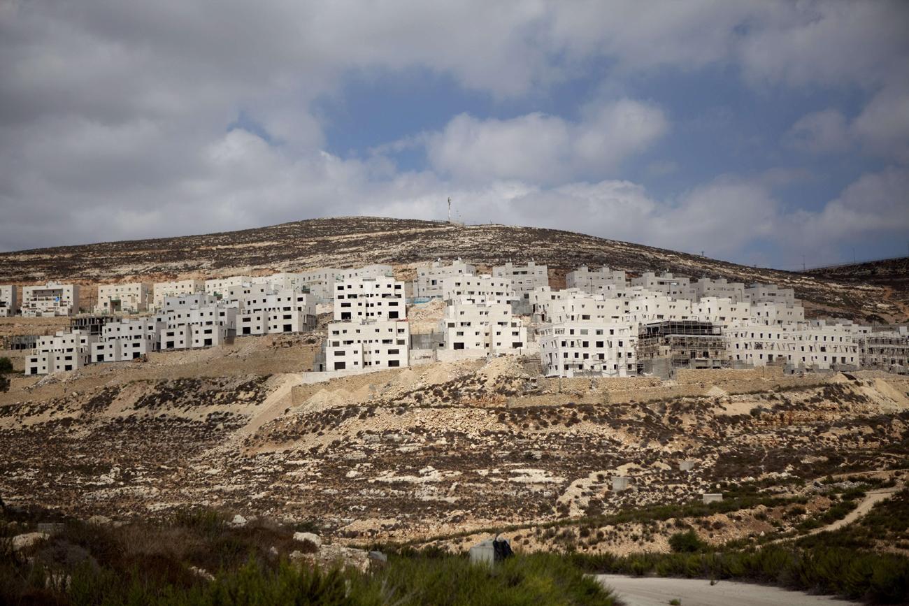 West Bank Settlement (Photo: AFP)