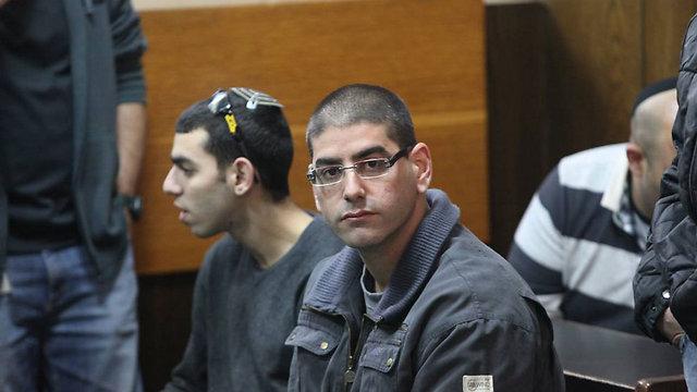 מוטי חסין. הנאשם המרכזי ברצח (צילום: מוטי קמחי) (צילום: מוטי קמחי)