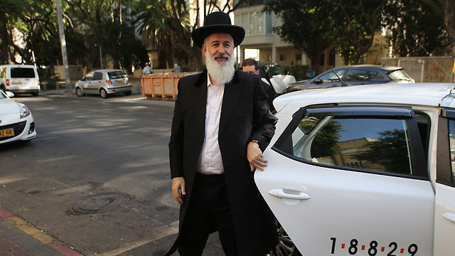 Metzger. Suspected of pocekting donation to different associations (Photo: Yaron Brener)