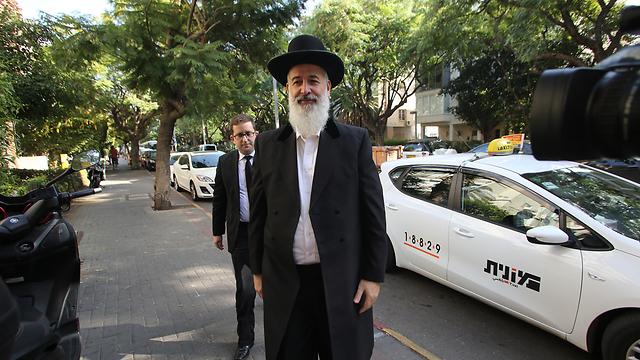 הרב הראשי לשעבר יונה מצגר (צילום: ירון ברנר)
