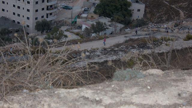 Stone-throwers at Mt. Scopus (Photo: Lior Menla) (Photo: Lior Menla)