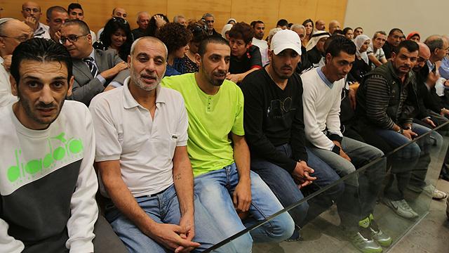 Defendants in court (Photo: Yotam Ronen)