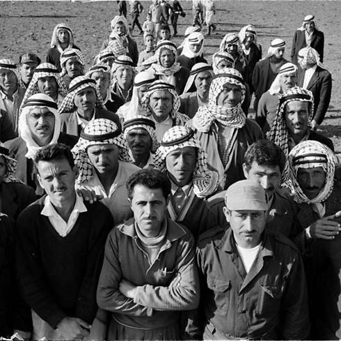 Palestinian refugees. For the Israeli team, the solution was clear and rested only within the framework of resettlement; repatriation was not part of the equation (Photo: UNRWA Archive)