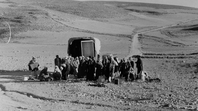 Palestinian refugees in 1948 (Photo: UNRWA)