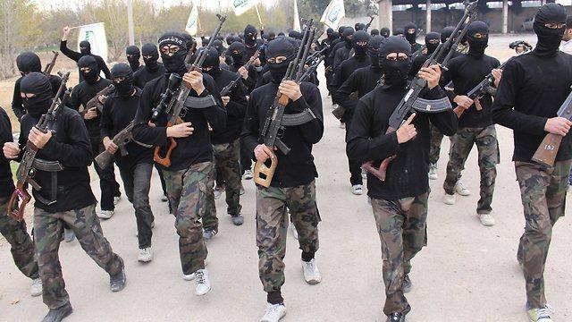 Al-Qaeda fighters' course in Syria (Photo: Reuters)