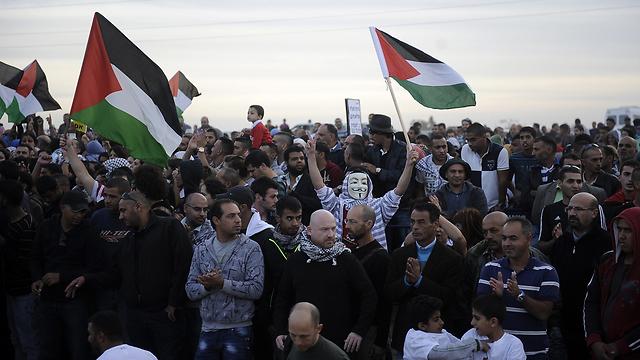 תולים את ההישג בהפגנות. המחאה בחורה לפני שבועיים (צילום: AFP) (צילום: AFP)