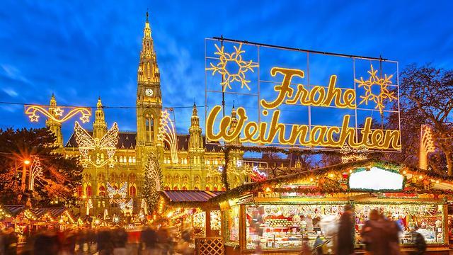 ויינכטמרקט. השם הגרמני לשוק החג המולד (צילום: shutterstock) (צילום: shutterstock)