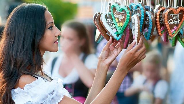 הגרסה הגרמנית המסורתית לעוגיית הזנגביל. לבקוכן (צילום: shutterstock) (צילום: shutterstock)