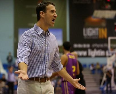 עוזר מאמן נבחרת ישראל. ליאור ליובין (צילום: ראובן שוורץ) (צילום: ראובן שוורץ)