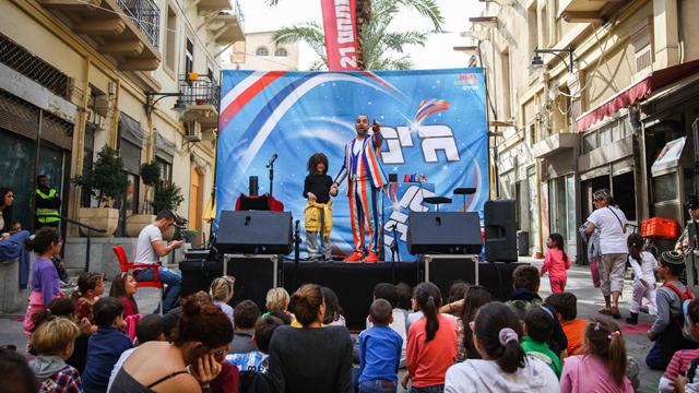 הופעות העיר התחתית בחיפה (צילום: אבישג שאר-ישוב)