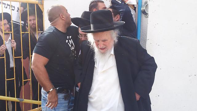 Rabbi Shmuel Auerbach (Photo: Ahiya Raved) (Photo: Ahiya Raved)