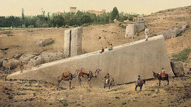 In Lebanon again: Baalbek temple