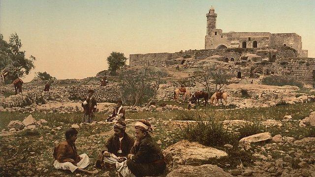 Shepherds in Nebi Samuel