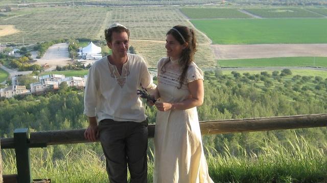 אילנה ודורון ביום חתונתם. ההשקעה הוחזרה (צילום: אביב נווה) (צילום: אביב נווה)