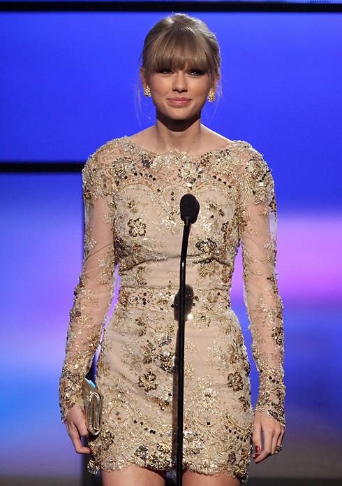 טיילור סוויפט. מועמדת לאלבום השנה (צילום: AP) (צילום: AP)