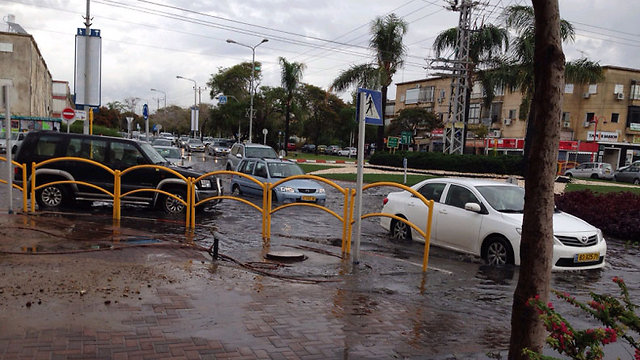Flooding in Kiryat Motzkin