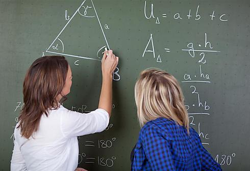 במתמטיקה דווקא יש שוויון. אילוסטרציה (צילום: shutterstock) (צילום: shutterstock)