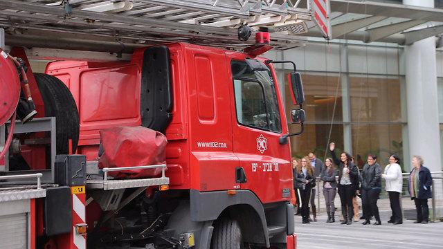 אף אחד לא ירצה לגור ליד תחנת מכבי אש (צילום: מוטי קמחי )