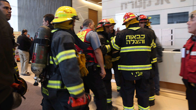 Israeli Fire Department (Photo: Motti Kimchi)