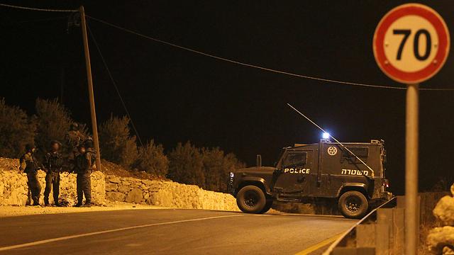 אילוס שטחים/פיגוע לילה משטרה צבאית צה