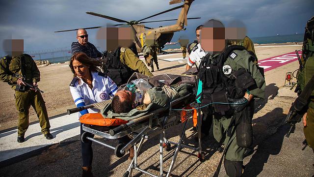 """""""התנהגותו לא מפתיעה"""". סג""""מ צרפתי מגיע לטיפול בביה""""ח רמב""""ם (צילום: אבישג שאר-ישוב)"""