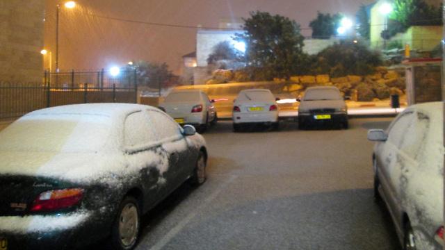 West Bank winter (Photo: Ariel Gross) (Photo: Ariel Gross)