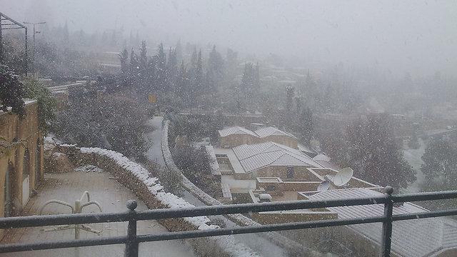 תצפית ממלון הר ציון, ירושלים (צילום: נועם (דבול) דביר) (צילום: נועם (דבול) דביר)
