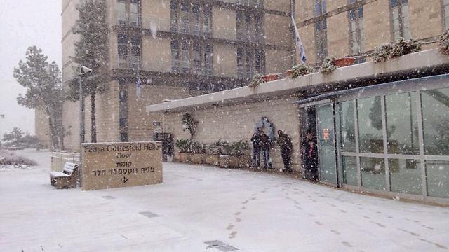בית חולים שערי צדק בבירה (צילום: eli ezra) (צילום: eli ezra)