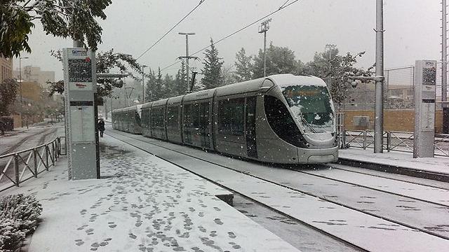 הרכבת הקלה בירושלים (צילום: נמרוד ארצי) (צילום: נמרוד ארצי)