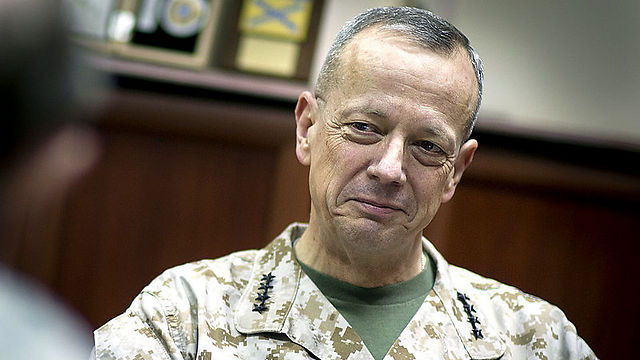 "Has a ""deep appreciation for Israel security"". General Allen"