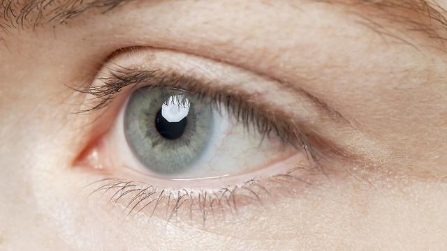 בעלי עיניים בהירות עשויים להיות רגישים יותר לקרינת UV (צילום: shutterstock) (צילום: shutterstock)