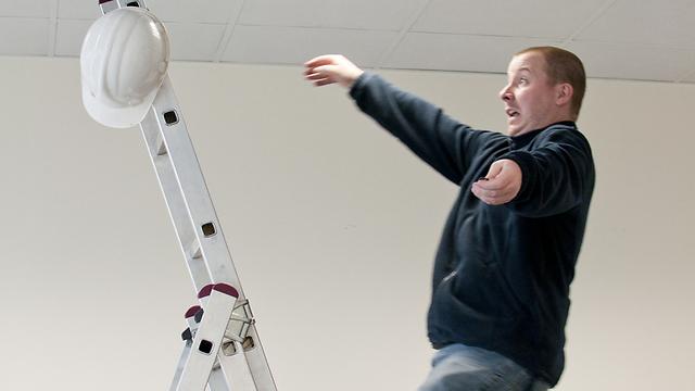 גם תאונת עבודה היא מצב חירום (צילום: shutterstock) (צילום: shutterstock)